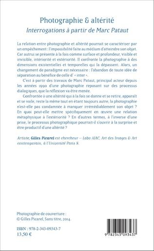 4eme Photographie & altérité