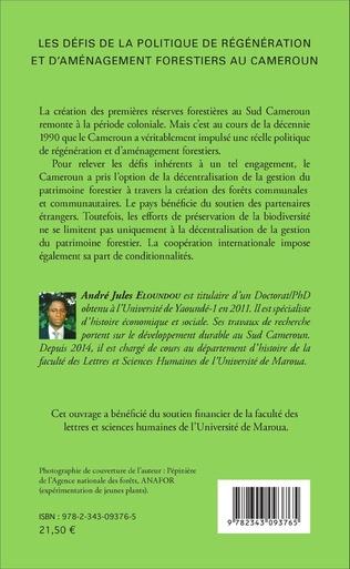 4eme Les défis de la politique de régénération et d'aménagement forestiers au Cameroun