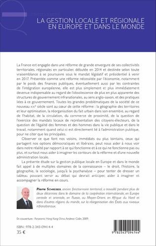 4eme La gestion locale et régionale en Europe et dans le monde