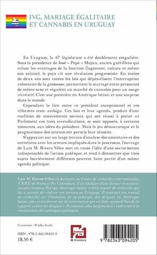 4eme IVG, mariage égalitaire et cannabis en Uruguay