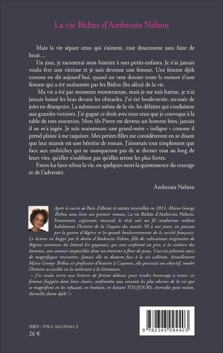 4eme La vie Bidim d'Ambrosia Nelson