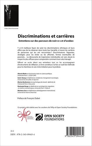 4eme Discriminations et carrières