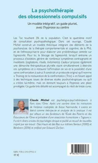 4eme La psychothérapie des obsessionnels compulsifs - Tome 1