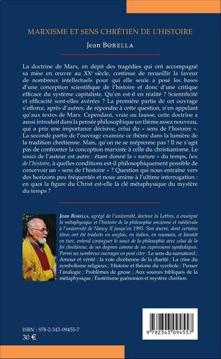 4eme Marxisme et sens chrétien de l'Histoire