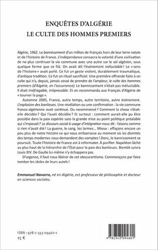4eme Enquêtes d'Algérie