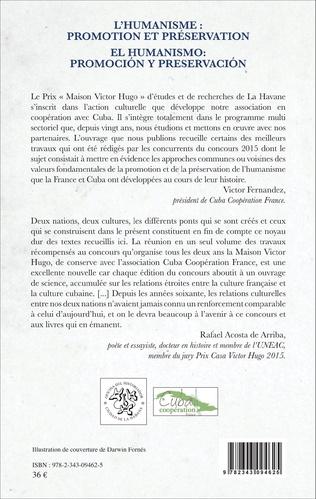 4eme L'humanisme : promotion et préservation / El humanismo: promociòn y preservaciòn