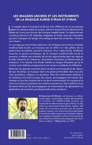 4eme Les <em>maqâms </em>anciens et les instruments de la musique kurde d'Iran et d'Irak