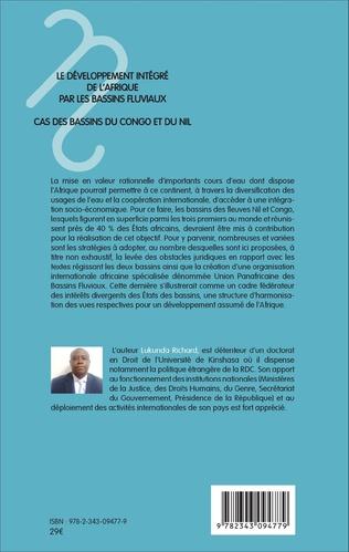 4eme Le développement intégré de l'Afrique par les bassins fluviaux