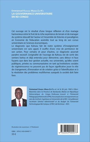 4eme La gouvernance universitaire en RD Congo