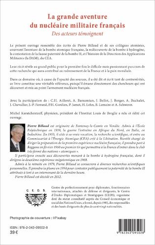 4eme La grande aventure du nucléaire militaire français