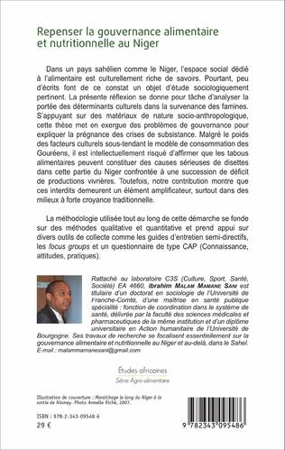 4eme Repenser la gouvernance alimentaire et nutritionnelle au Niger