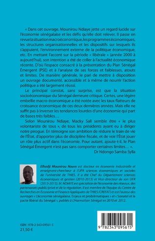 4eme Economie du Sénégal