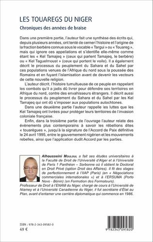 4eme Les Touaregs du Niger