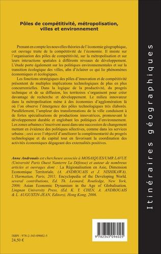 4eme Pôles de compétitivité métropolisation,