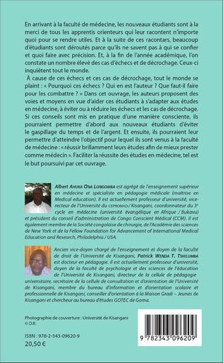 4eme Pour réussir les études de médecine en RD Congo