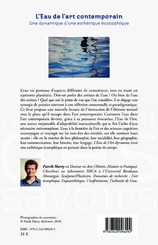 4eme L'Eau de l'art contemporain