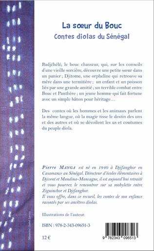 4eme La soeur du bouc. Contes diolas du Sénégal