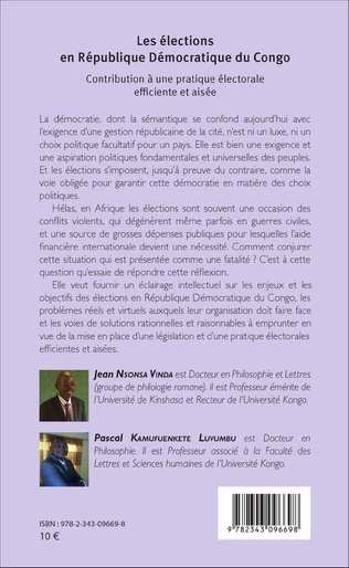 4eme Les élections en République Démocratique du Congo