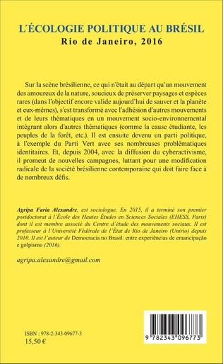 4eme L'écologie politique au Brésil
