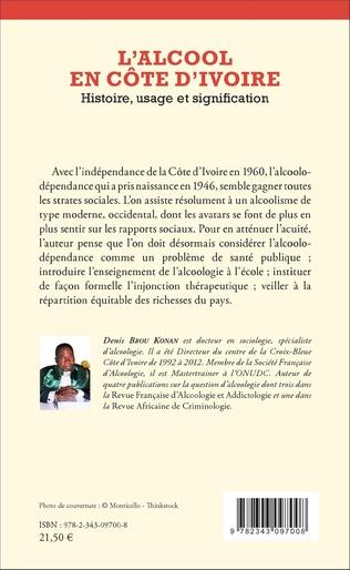 4eme L'Alcool en Côte d'Ivoire
