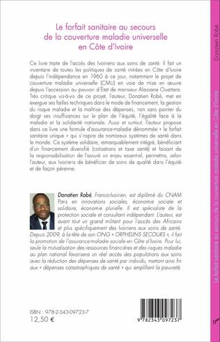 4eme Le forfait sanitaire au secours de la couverture maladie universelle en Côte d'Ivoire