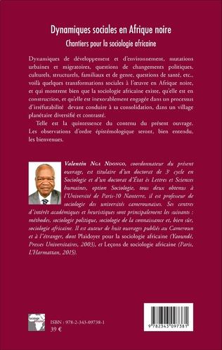4eme Dynamiques sociales en Afrique noire