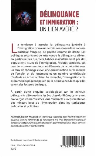 4eme Délinquance et immigration : un lien avéré ?
