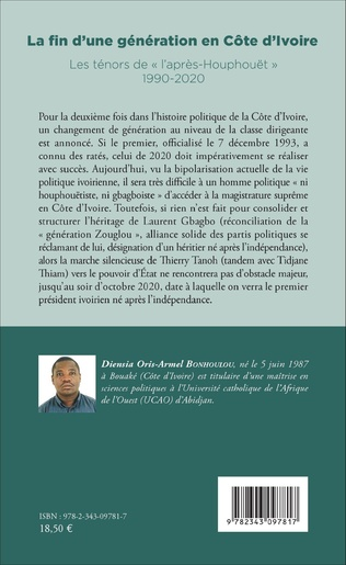 4eme La fin d'une génération en Côte d'Ivoire