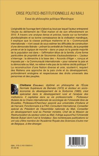 4eme Crise politico-institutionnelle au Mali