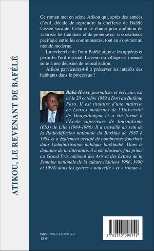 4eme Atikou, le revenant de Bafélé