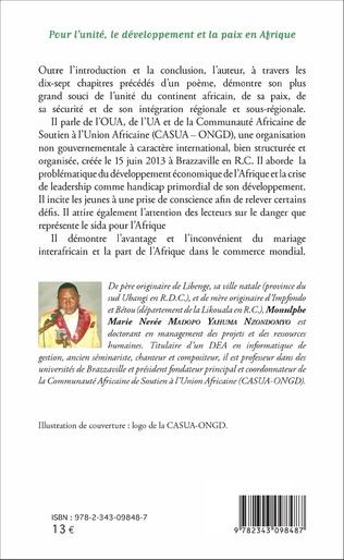 4eme Pour l'unité, le développement et la paix en Afrique