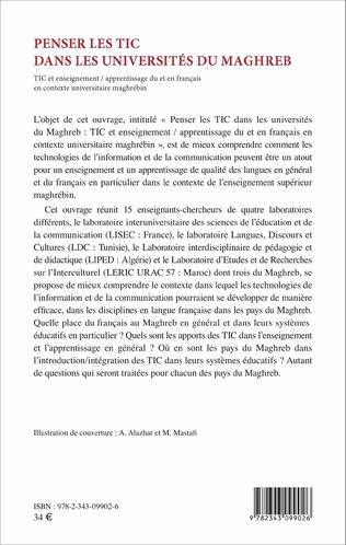 4eme Penser les TIC dans les universités du Maghreb