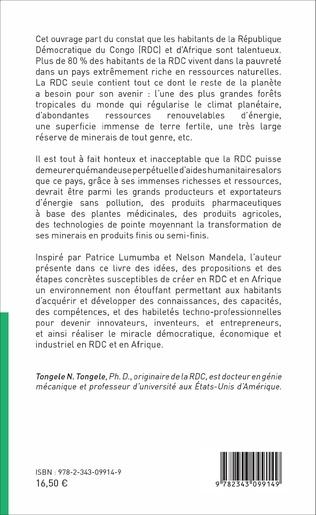 4eme Le chemin de la renaissance techno-socio-économique en RDC et en Afrique