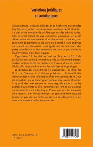 4eme Variations juridiques et sociologiques
