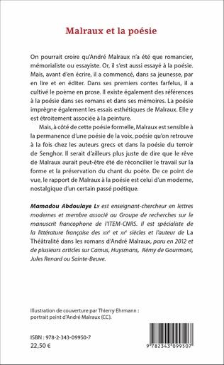 4eme Malraux et la poésie