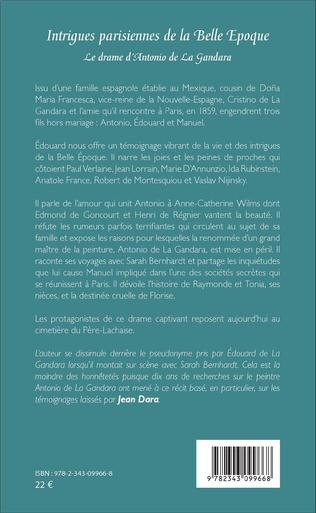 4eme Intrigues parisiennes de la Belle Époque