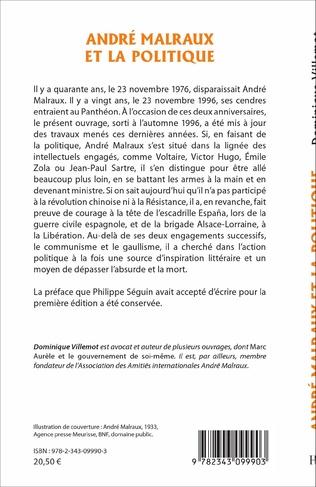 4eme André Malraux et la politique