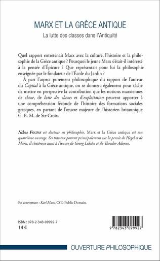 4eme Marx et la Grèce antique