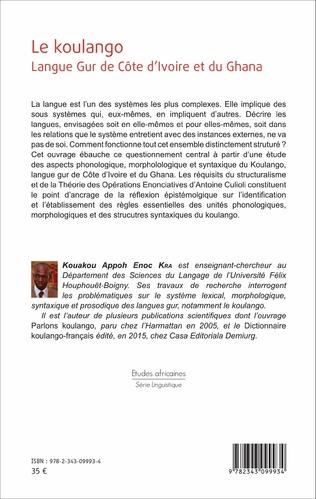 4eme Le koulango