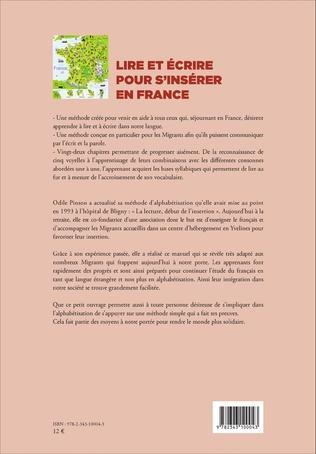4eme Lire et écrire pour s'insérer en France