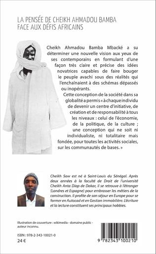 4eme La pensée de Cheikh Ahmadou Bamba face aux défis africains