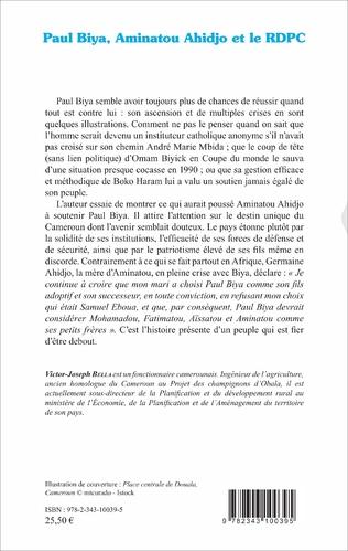 4eme Paul Biya, Aminatou Ahidjo et le RDPC