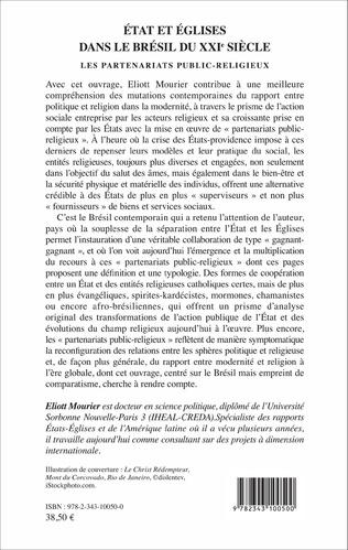 4eme État et Églises dans le Brésil du XXIème siècle