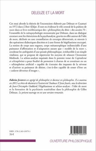 4eme Deleuze et la mort