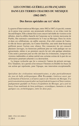 4eme Les Contre-Guérillas françaises dans les Terres Chaudes du Mexique (1862-1867)