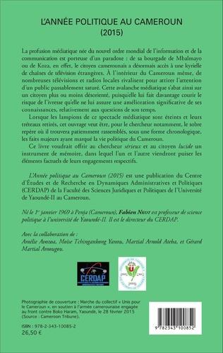 4eme L'année politique au Cameroun (2015)