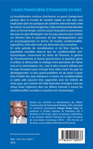 4eme L'aide financière étrangère en RDC