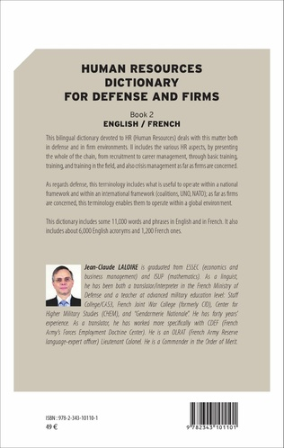 4eme Human resources dictionary for defense and firms