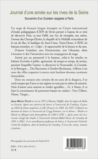4eme Journal d'une année sur les rives de la Seine