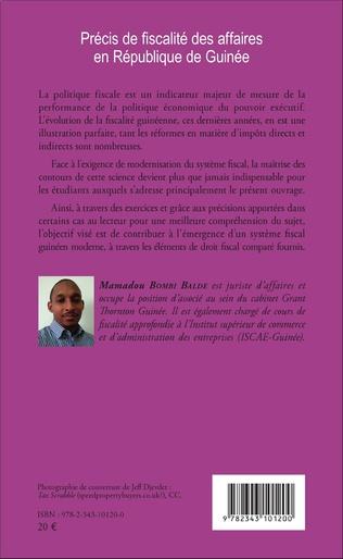 4eme Précis de fiscalité des affaires en République de Guinée